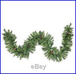 Northlight Seasonal 50′ X 12 Pre-lit Dakota Red Pine Commercial Artificial