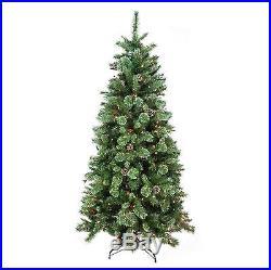 Northlight Seasonal 7.5′ X 48 Pre-lit Multi-color Glittered Mixed Pine Medium
