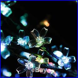 Northlight Seasonal 8′ Led Lighted Commercial Cherry Blossom Flower Tree