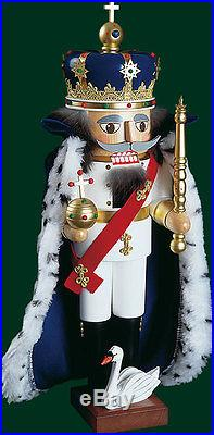Nussknacker König Ludwig II. 12814 Richard Glässer Seiffen