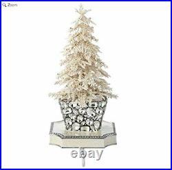 Olivia Riegel Stocking Holder Flocked Christmas Tree