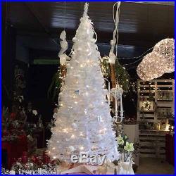One Minute Tree künstlicher Weihnachtsbaum LED weiß oder grün 180 240 cm