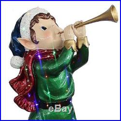 Outdoor Christmas Decoration Holiday Fairy Elf Pre Lit LED Lights Yard Decor