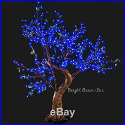 Outdoor Christmas LED Tree Cherry 4.8-Feet Blue Garden Landscape Wedding Event