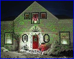 Outdoor Christmas Lights Star Shower Projector Garden LED Decorations Holiday