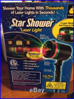 Outdoor Laser Lights Projector Star Shower Decor Christmas Holiday Decoration