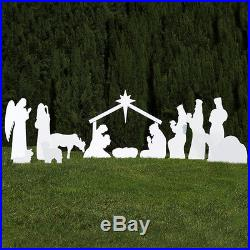 Outdoor Nativity Store Silhouette Outdoor Nativity Set Full Scene