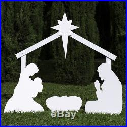 Outdoor Nativity Store Silhouette Outdoor Nativity Set Holy Family Yard Scene