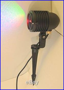 Outdoor RED Green Blue Laser Landscape Projector Light With Remote RGB LED