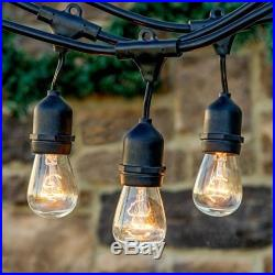 Outdoor Xmas Lights 3 Pack Weatherproof Holiday Party Christmas Decor Wedding