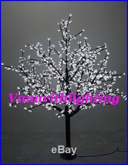 Outdoor cherry blossom tree Xmas tree light wedding party garden patio decor 6ft