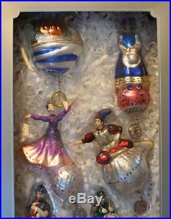 POTTERY BARN 12 Days of Christmas Ornaments NIB Read Description