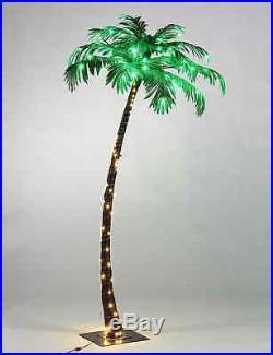 Palm Tree Christmas Tree Decorate Prelit White Energy Saving Home Beach Garden