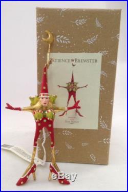 Patience Brewster Krinkles Mini Ornament Star Woman