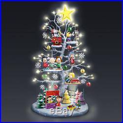 Peanuts Christmas Tabletop Tree Charlie Brown XMAS LED Illuminated Decoration