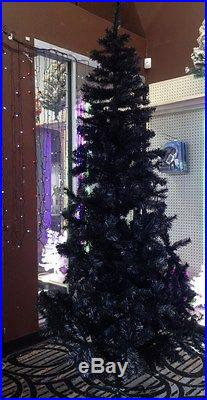 Perfect Holiday 5 ft BLACK Artificial PVCO Christmas Tree Decoration