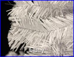 Perfect Holiday Christmas Tree, 6-Feet, PVC Crystal White
