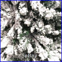 Perfect Holiday Christmas Tree Snow Flocked 4,5,6,7,8 feet