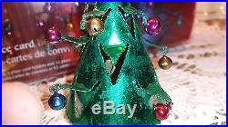 Pier 1 Holiday Christmas Tree Place Card Holders Set Of 8 Ornaments Decorations