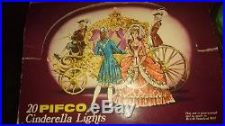Pifco 20 Cinderella Lights with orig box both in VGC Pat tested next day del