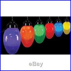 Polymer Products 1661-10521 Giant Christmas Bulb Six Globe String Light Set