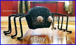 Pottery Barn Black Vine Spider Décor (jumbo) -nib- Spin A Web Of Halloween Fun
