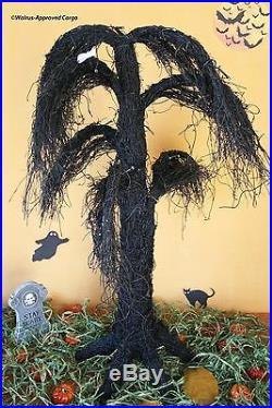 Pottery Barn Lit Weeping Willow Creepy (large) Tree Perfect For Twig Or Treat