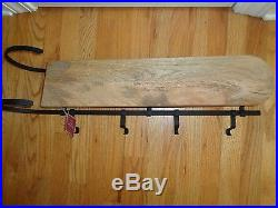Pottery Barn MANTLE SLEIGH STOCKING HOLDER-NEW With TAGS-HARD TO FIND