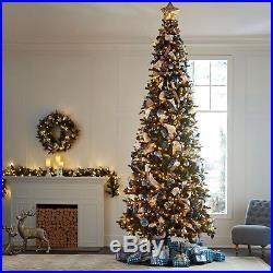 Pre-Lit 12′ Ellsworth Fir Christmas Tree Plug in and Glow 12 Ft Tall