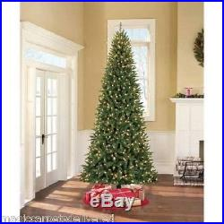 Pre Lit 12' Williams Pine Artificial Christmas Tree Clear Lights Holiday New