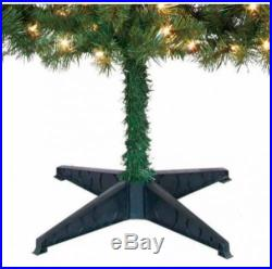 Pre-Lit 6.5' Pine Green Artificial Christmas Tree Clear Lights Holiday Decor