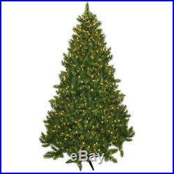 Pre-Lit 7.5′ Vermont Fir Artificial Christmas Tree, 700 Clear Lights