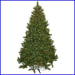 Pre-Lit 7.5′ Vermont Fir Artificial Christmas Tree, 700 Multi Lights