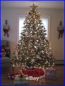 Pre-lit Christmas Tree 1000 Lights 7.5 Ft high
