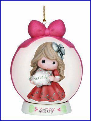 Precious Moments Company Dated 2014 Ball Ornament
