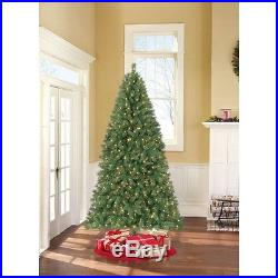 Prelit Christmas Tree 7.5′ Artificial Large Color Changing Lights Stand Green