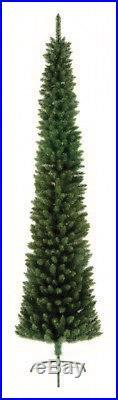Premier Pine Pencil Slim Christmas Tree Green 200cm/2m FREE P&P