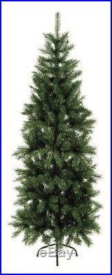 Premier Slim Pine Christmas Tree 210cm/2.1m/7ft