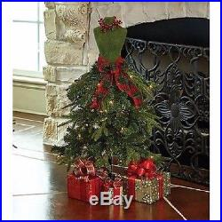 Premium 3 Dress Form Holiday Christmas Tree Mini Mannequin RED/GREEN