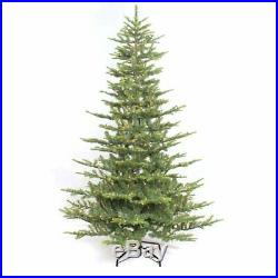 Puleo Int. 7.5′ Pre-Lit Aspen Fir Christmas Tree with700 UL Clear Lights Green