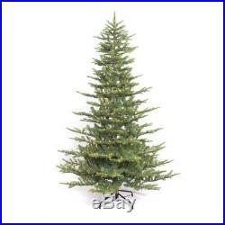 Puleo International 7.5 Aspen Green Fir Pre-lit Christmas Tree