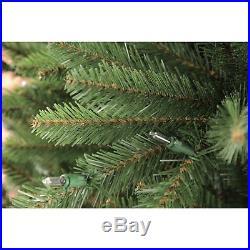Puleo International 7.5 Pre-Lit Douglas Fir Premier Artificial Christmas Tree