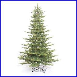 Puleo International 7.5′ Pre-lit Aspen Green Fir Tree