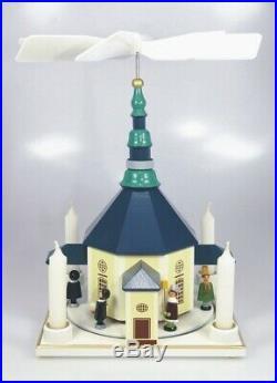 Pyramide Seiffener Kirche Bunt 26 cm NEU Weihnachtspyramide Tischpyramide Deko