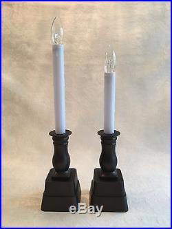 Qvc Bethlehem Lights Led Window Candle Brushed Bronze
