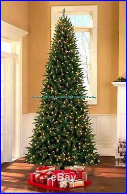 Quick Set Pre Lit 9 Williams Pine Christmas Tree With1607