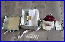 RARE Holiday Christmas Tree Ornament Santa Claus Lasting Endearments Lynn West