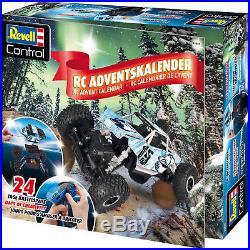 RC Adventskalender Revell Control XS Crawler Weihnacht 24xBaustufen Spielfigur