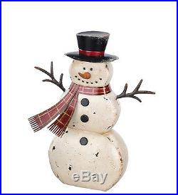 Rustic Snowmen Lawn Decor 3 Sizes Regal Art & Gift