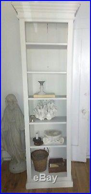 Rachel Ashwell Shabby Chic White Wood Architecture Furniture Shelf